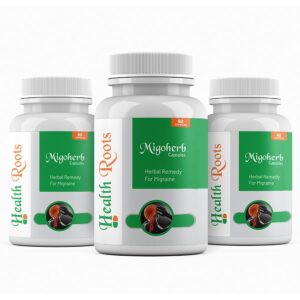 HealthRoots-Migoherb is best ayurvedic and herbal remedy for headaches and migraine