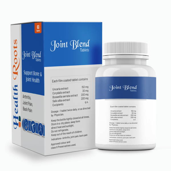 HealthRoots- Joint Blend Herbal Ayurvedic cure for knee pain