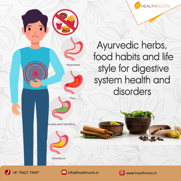 Ayurvedic Herbs and medicines for digestive system Health and disorders