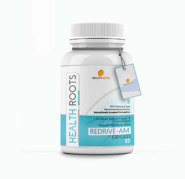 Redrive-AM for stress and anxiety support