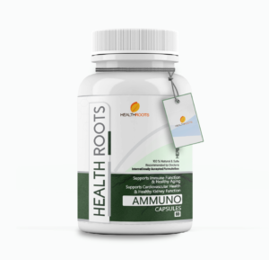 Ammuno- Natural Supplement for Boosting Immunity, Healthy ageing. Healthy Kidney Function and Cardiovascular Function