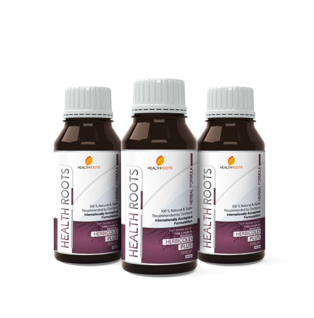 Healthroot-herbicold plus for Cold, Cough & Bronchitis